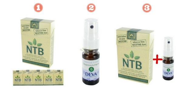 NTB spray fleurs de bach désaccoutumance Deva